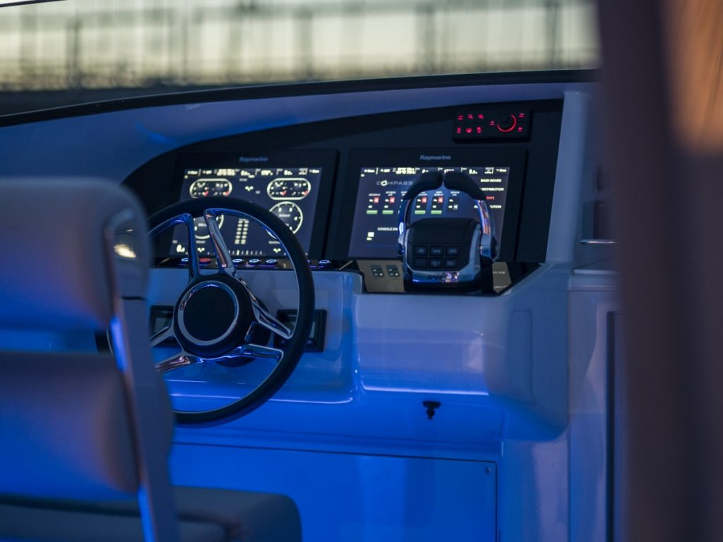 Compass Tenders controls of an 11m limo tender