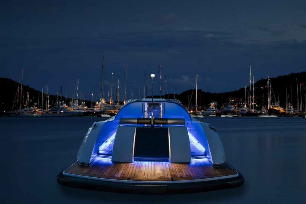 Compass Tenders rear of 11m limo tender