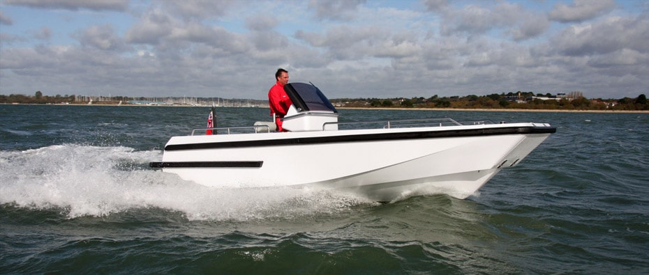 Compass Tenders workboat in use