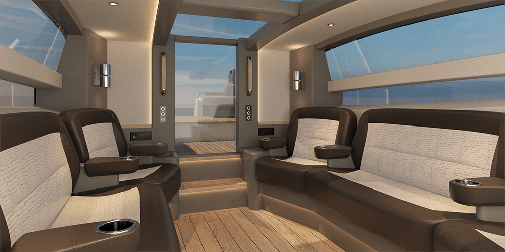 Compass Tenders - Latitude south interior